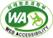 과학기술정보통신부 WEB ACCESSIBLITY 마크(웹 접근성 품질인증 마크)